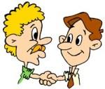 free clipart net Handshake